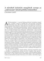 A_mersekelt_iszlamista_mozgalmak_szerepe 977 KB PDF ... - Grotius
