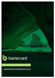 Bay of Islands - Bartercard Travel