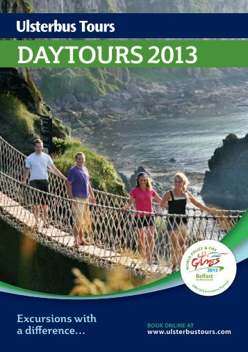 Ulsterbus Day Tours 2013 Excursions with a difference. Download ...