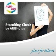 Recruiting-Check by AUBI-plus