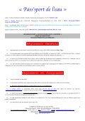 PROGRAMME SPORTIF - Les sites abcNatation - Page 5