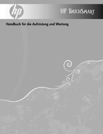 Handbuch für die Aufrüstung und Wartung