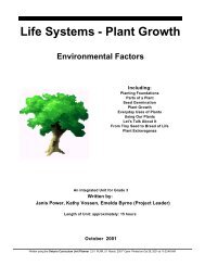 Life Systems - Plant Growth