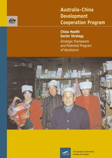 China Health Sector Strategy - AusAID