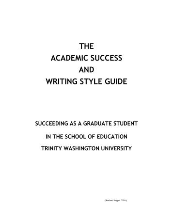 Writing style and submission guide
