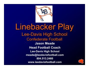 Lee-Davis High School - Fast and Furious Football