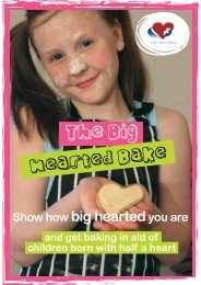 The Big Hearted Bake - Little Hearts Matter