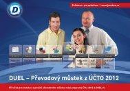 Převodový můstek Účto 2012 > DUEL 8.1 - Ježek software