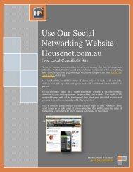 Use Our Social Networking Website Housenet.com.au