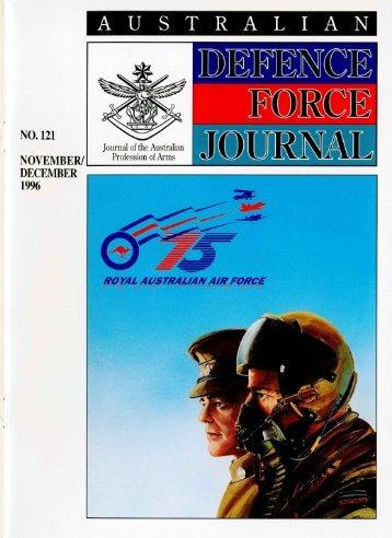 ISSUE 121 : Nov/Dec - 1996 - Australian Defence Force Journal