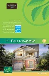 THE FAIRMEADOW - Reid's Heritage Homes