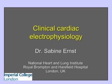 2 Clinical Cardiac Electrophysiology