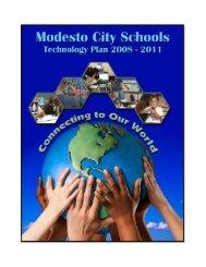 Technology Plan - Modesto City Schools