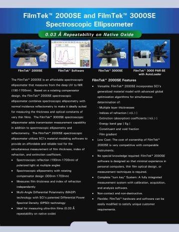 FilmTek 2000SE Broch.. - Scientific Computing International