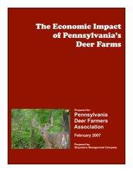 The Economic Impact of Pennsylvania's Deer Farms - Shepstone ...