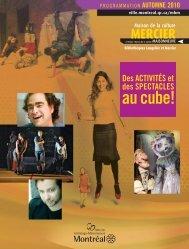 bibliothèque mercier - Accès culture