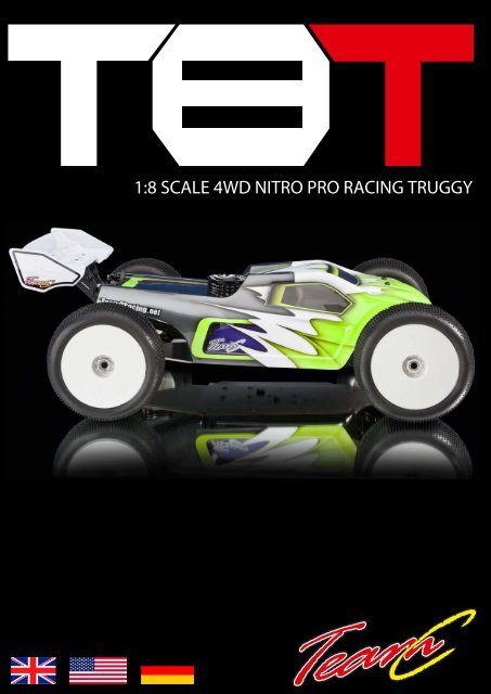 1:8 SCALE 4WD NITRO PRO RACING TRUGGY - Absima