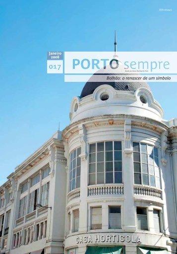 o que há de novo - Câmara Municipal do Porto