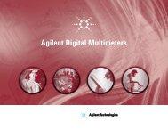 Agilent Digital Multimeters Catalog - MetricTest