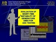Prezentace aplikace PowerPoint - Czech Technical University in ...