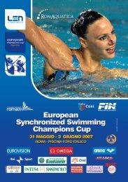 European Synchronized Swimming Champions Cup - Federazione ...