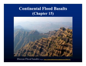 Continental Flood Basalts