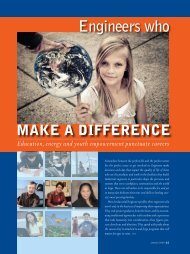 Engineers who make a difference - Institute of Industrial Engineers