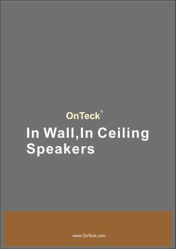 In wall,In ceiling,Outdoor speakers 2008+.cdr - OnTeck