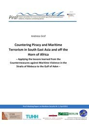 Countering Piracy and Maritime Terrorism in South East Asia ... - PiraT