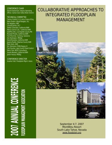Annual Conference Program and Abstract Proceedings - Floodplain ...