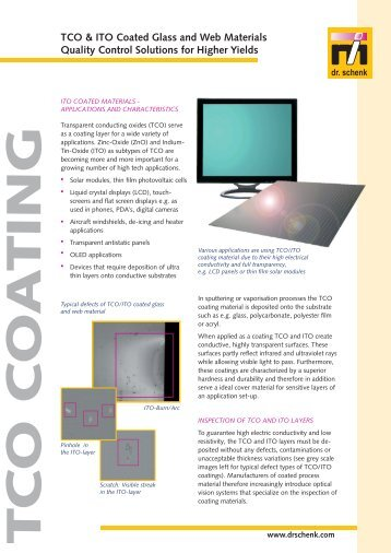 TCO & ITO Coated  Glass and Web Materials Quality Control ...