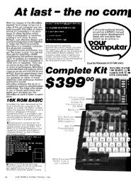 Applied Technology and Microbee adverts. - The MESSUI Place