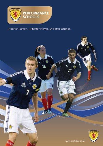 PERFORMANCE SCHOOLS - Scottish Football Association