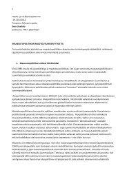 Eero Uusitalon Puhe hankeseminaari 19.4.2012 - Maaseutupolitiikka