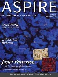Janet Patterson - Aspire Magazine