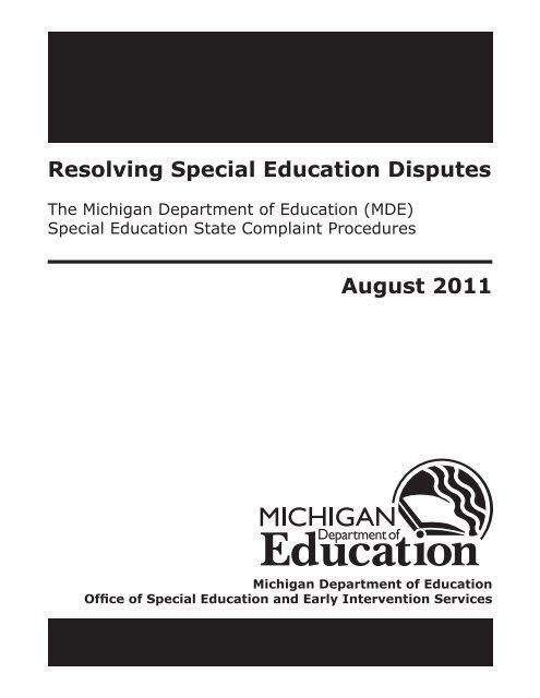 Resolving Special Ed Disputes >> Img Yumpu Com 24069218 1 500x640 Special Education