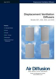 Displacement Vent Di.. - Air Diffusion