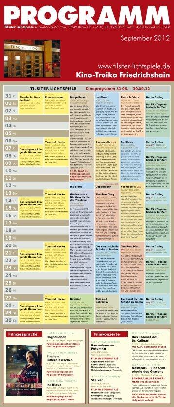 Flyer 09-2012 - Tilsiter Lichtspiele