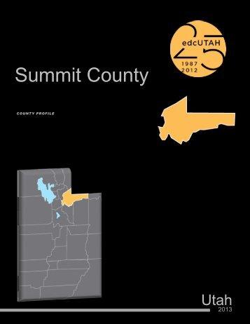 Summit - Economic Development Corporation Utah