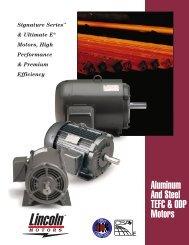 Aluminum And Steel TEFC & ODP Motors - A2ZInventory.com