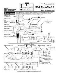 Wet Dynafile® II - Dynabrade Inc.