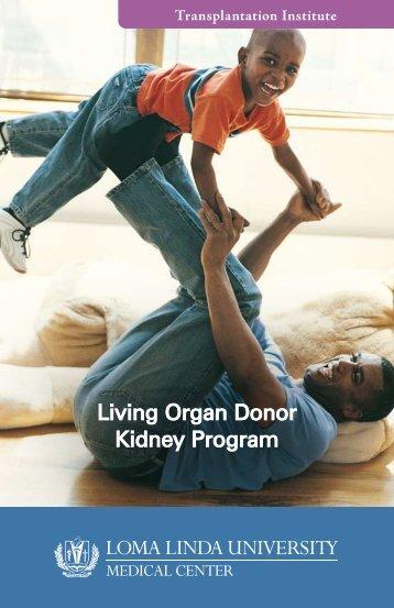 Living Donor Program - Loma Linda University Medical Center