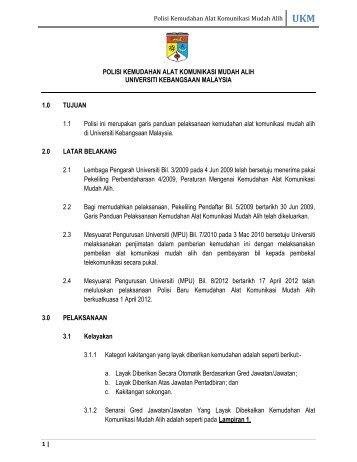 Garis Panduan - Sistem e-Warga - Universiti Kebangsaan Malaysia