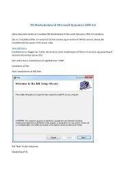 NN Markedsdata til Microsoft Dynamics CRM 4.0