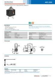 4831.2200 - Audio Stecker/Dosen - Schurter