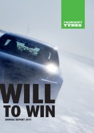 Annual Report 2011 - Nokian Tyres