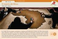 El reparto del África - Manosanta