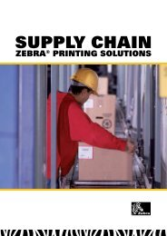 SuPPLy CHAIn - the ScanSource Europe Zebra Microsite