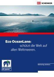 Eco Oceanlane: schützt die Welt auf allen Weltmeeren. - DB Schenker