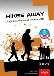 HIKES AwAY - The Scout Association